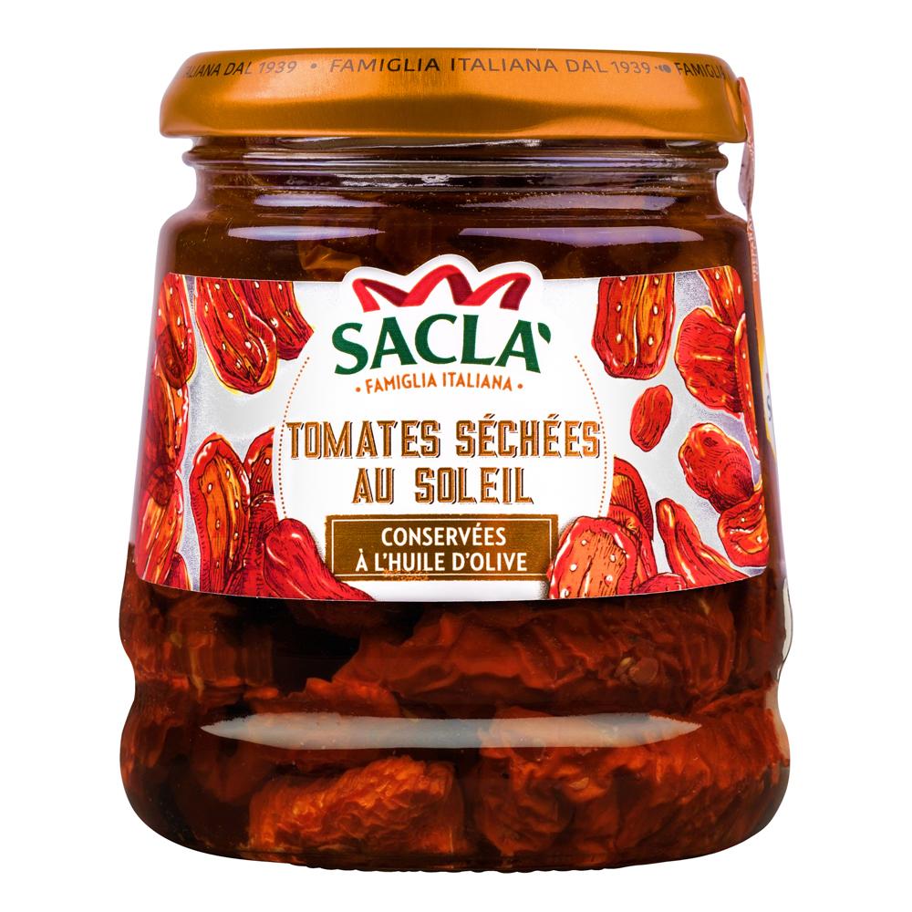 Packshot complexe Sacla tomate huile
